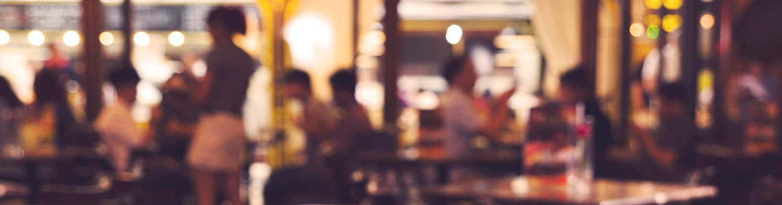 Sistemas de câmeras IP para Restaurantes e Bares