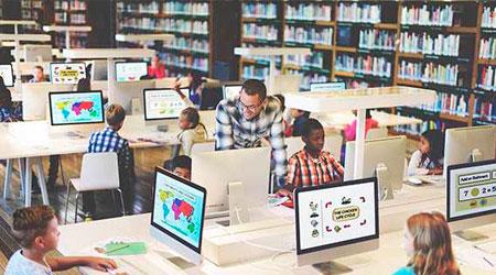 Sistemas monitoramento e vigilância com Câmeras IP para livrarias e bibliotecas