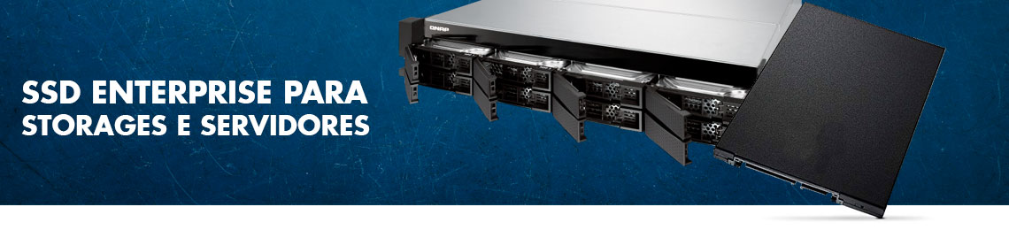 SSD Enterprise para storages e servidores