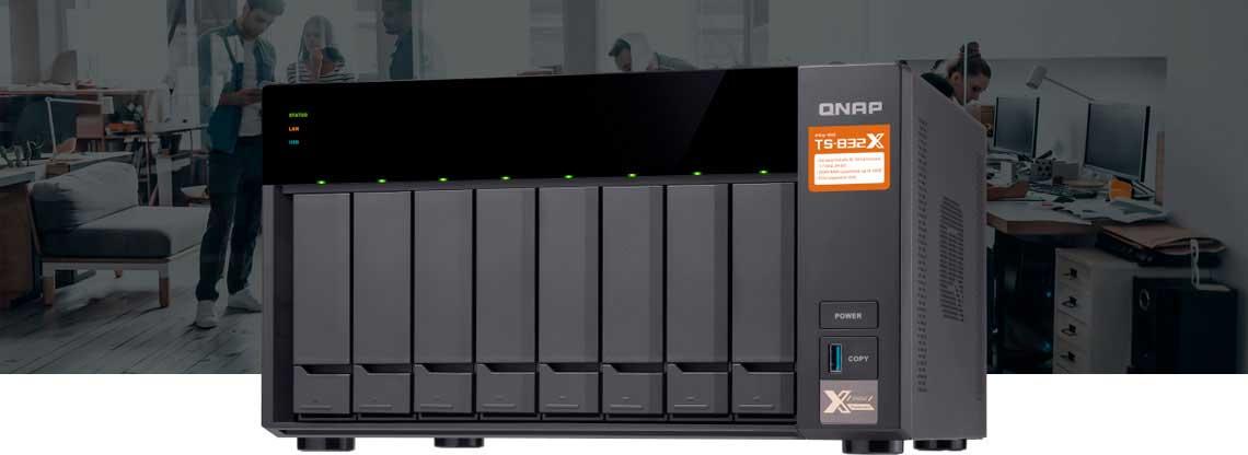 Storage iSCSI Qnap TS-832X