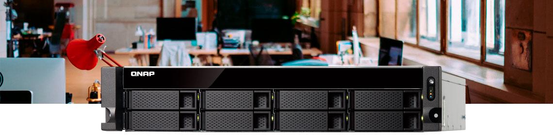 Storage NAS Qnap em ambiente de escritório