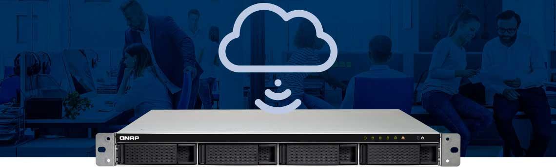 Storage NAS possibilitam uma implantação mais flexível de nuvem pessoal