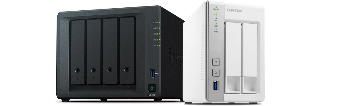 Storages NAS Qnap e Synology