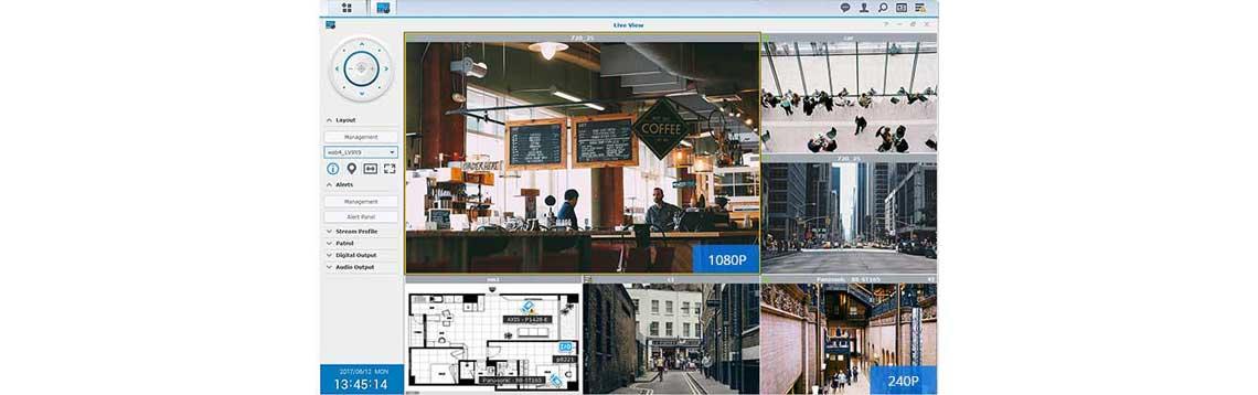 Sistema de vigilância Surveillance Station Synology