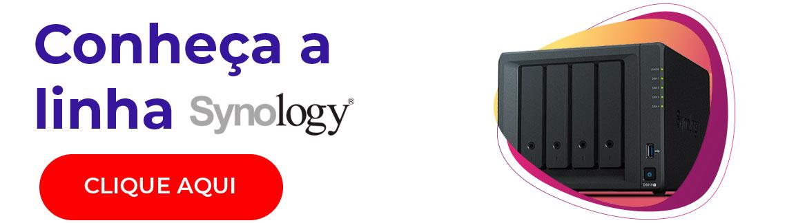 Conheça a linha de storages Synology
