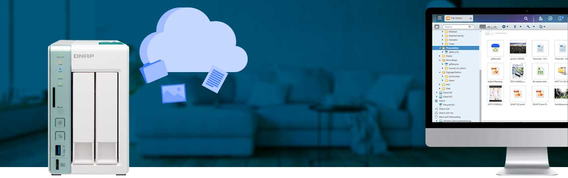 Um NAS como solução de nuvem pessoal