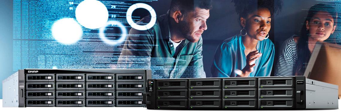 uso de um NAS como sistema de armazenamento em rede