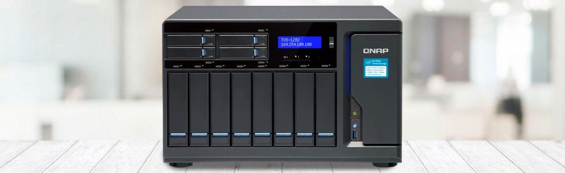 Vantagens de comprar um storage híbrido, TVS-1282 QNAP