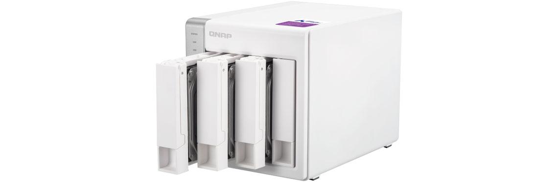 Baias para instalação de HDDs, TS-431P Qnap
