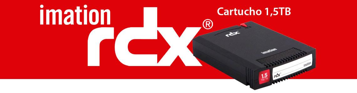 Cartucho RDX de 1,5TB