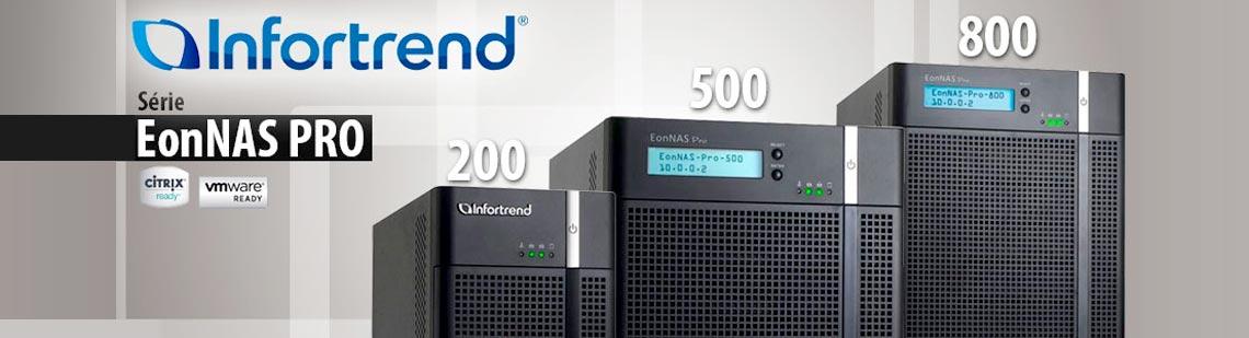 EonNAS PRO 200, EonNAS PRO 500 e EonNAS PRO 800