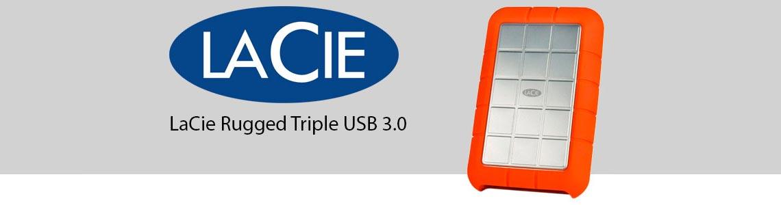 LaCie Rugged Triple USB 3.0