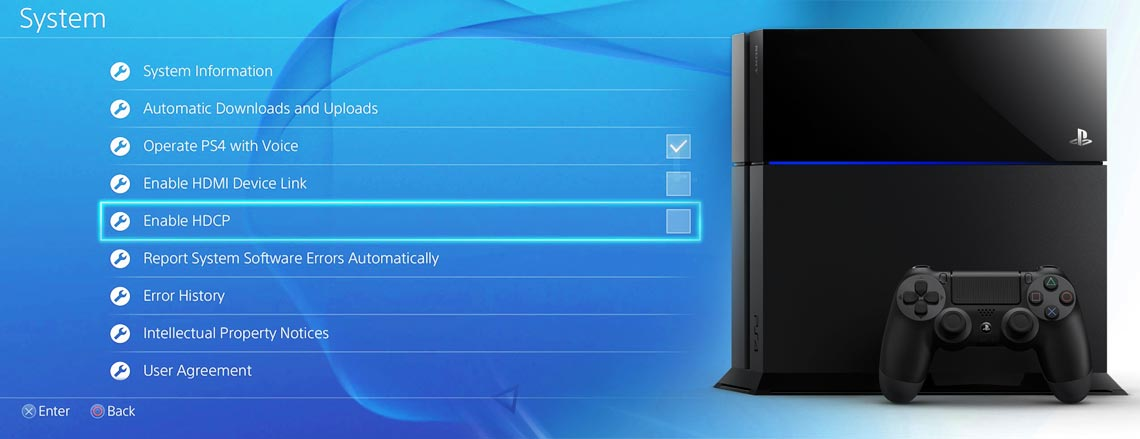 Sony desabilita o HDCP no PS4