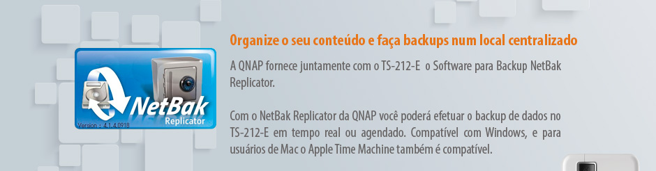 NetBak Replicator - Software de backup