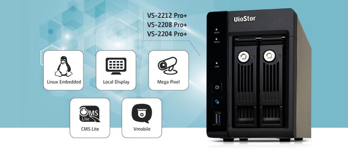 Nova linha de produtos da QNAP - Linha NVR VS-2200 Pro +