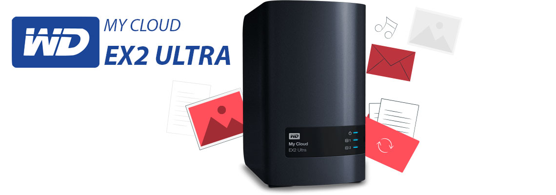My Cloud Ex2 Ultra, o NAS residencial WD