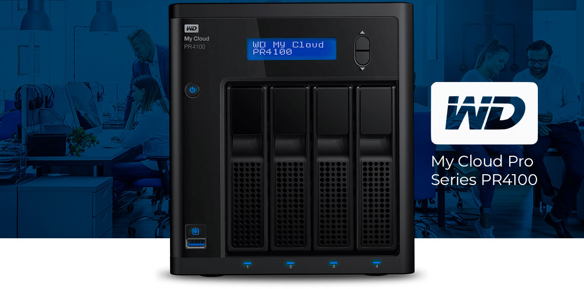 WD My Cloud Pro Series PR4100, um Storage NAS Honesto