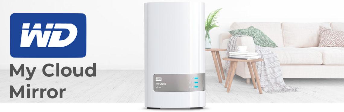 WD My Cloud Mirror, um storage NAS para uso doméstico