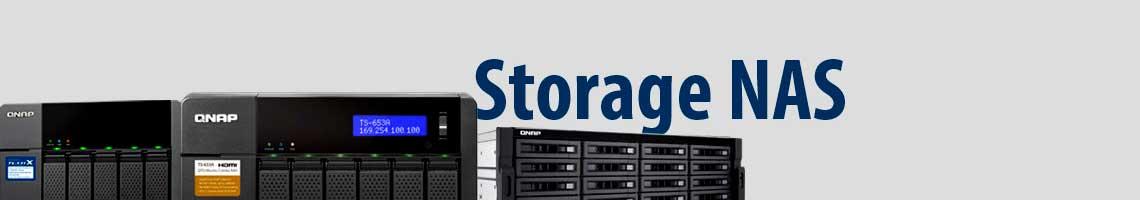 Três modelos de storage NAS da marca Qnap
