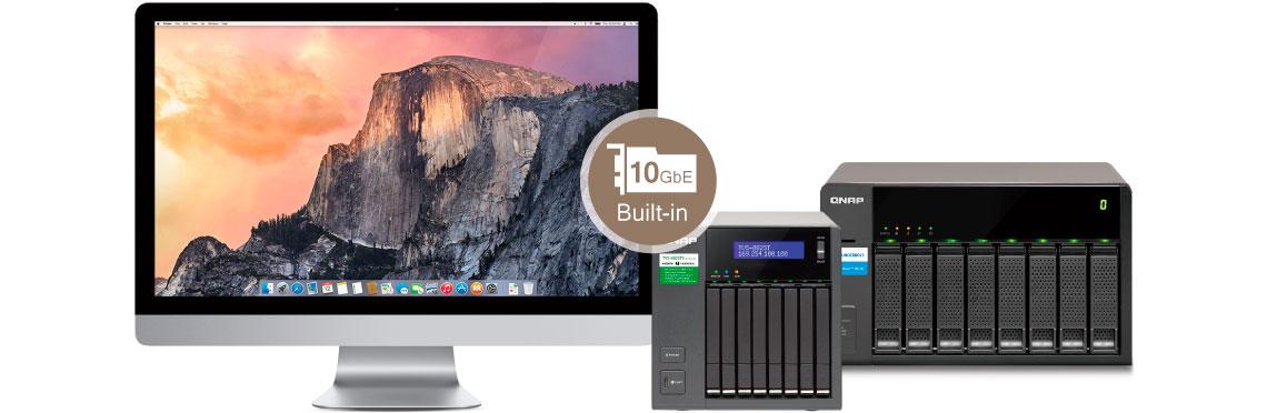 TVS-882ST3 Qnap - Alta acessibilidade (MAC + JBOD)
