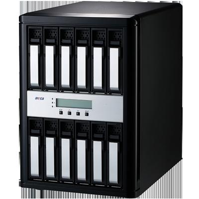 ARC-8050T3-12 Areca - 12 bay storage USB-C / Thunderbolt 3