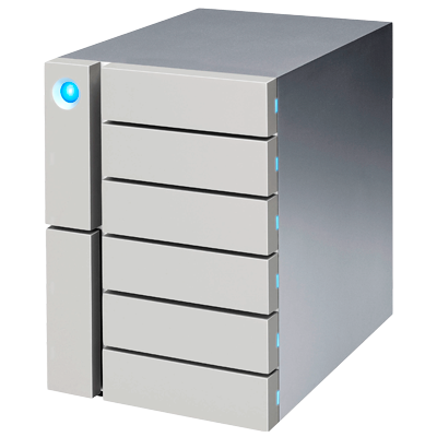 LaCie 6Big STFK24000400 - Storage 24TB Thunderbolt 3