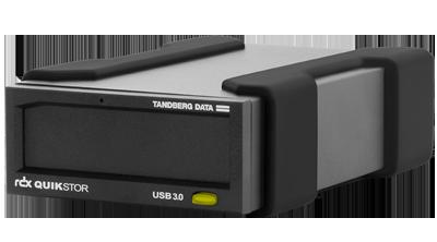 HD removivel até 4TB RDX USB3.0 QuikStor Tandberg 8781