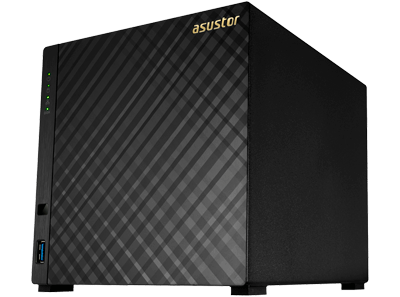 AS3104T Asustor - NAS 4 baias 32TB SATA