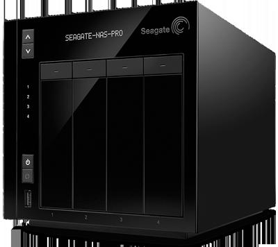 STDE8000100 Servidor NAS Seagate 8TB Business Storage