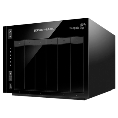 6-Bay NAS Pro Seagate STDF100