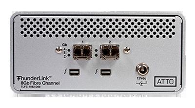 Conversor 2x ThunderBolt 10Gb para 2x FC 8Gb