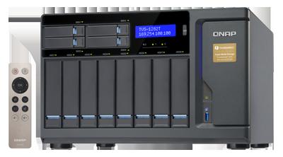 Qnap TVS-1282T - Storage Thunderbolt 2 até 96TB e conexão 10GbE