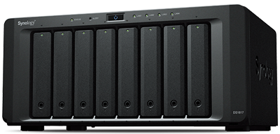 DS1817 DiskStation Synology - Storage NAS até 80TB