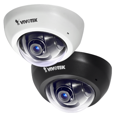 Câmera IP Full HD interna Dome Vivotek FD8166 PoE