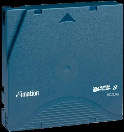 Fita LTO-3 Ultrium 400GB / 800GB Imation p/ Dell HP e IBM
