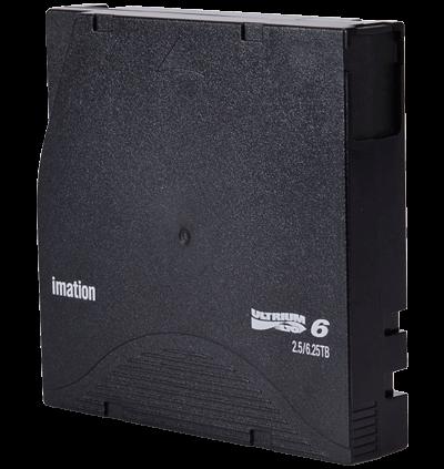 Fita LTO-6 Ultrium Imation para unidades de backup IBM, Dell e HP