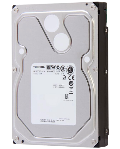 HD 2TB ENTERPRISE 7200RPM TOSHIBA PARA STORAGES