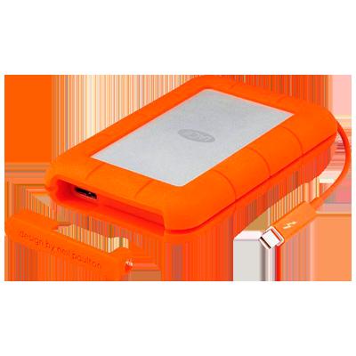 9000488 LaCie Rugged - HD Externo Portátil Thunderbolt e USB3.0 1TB