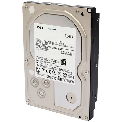 HD 4TB 7200RPM para Storage SATA 3 6Gb/s Deskstar