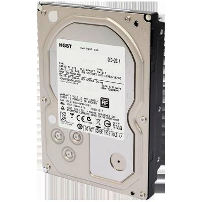 HD para Storage NAS 6TB 7200 RPM SATA III 6Gb/s