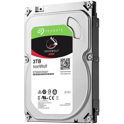 Seagate ST3000VN007, HD SATA 3TB interno 5900rpm Ironwolf