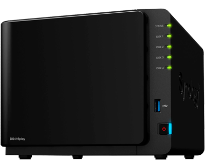 Personal Cloud Storage - DS416play Synology DiskStation até 40TB