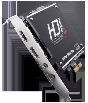 Live Gamer HD - Placa de Captura PCI Interna Avermedia