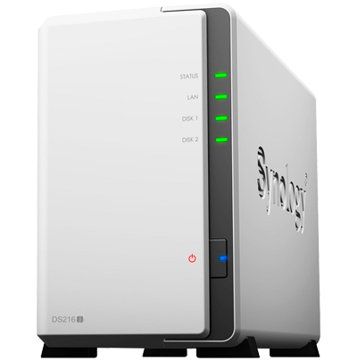 DS216j Synology  - Servidor DLNA, NAS e Media Center DiskStation