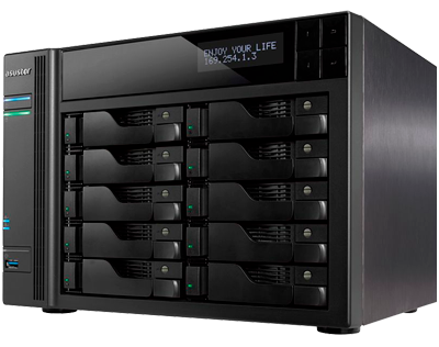 Storage 100TB SATA - AS7010T Asustor