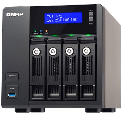 Storage 12TB NAS 4 bay TVS-471 Qnap