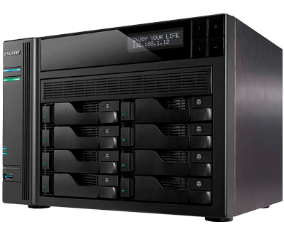 Asustor AS6208T - Storage 8 bay até 80TB SATA
