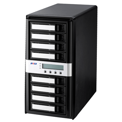 Areca ARC-8050T3-8 - Storage 8 bay Thunderbolt 3
