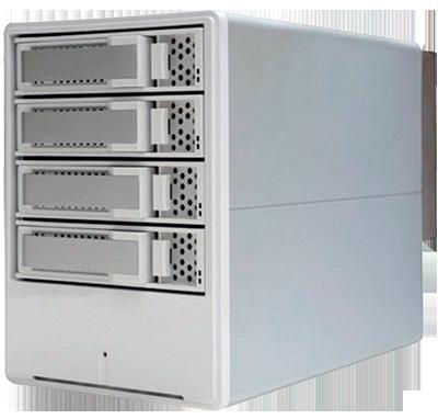 Storage Thunderbolt ARC-5026 de 4 baias até 32TB