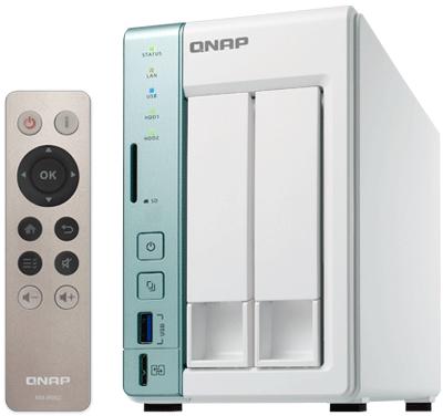 TS-251A Qnap - 2 bay NAS HDMI e USB Storage